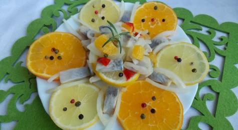 Matiasy w cytrusach z chilli