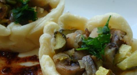 Lisner z sosem piernikowym